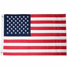 DLORY 2'x3' American Flag:American Deluxe Long Lasting 2x3 FT Outdoor US... - $25.71