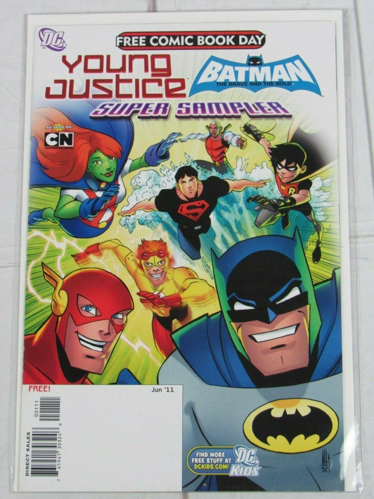 YOUNG JUSTICE/ BATMAN Brave & the Bold Comic # 0 2011 DC Comics ~ C4992