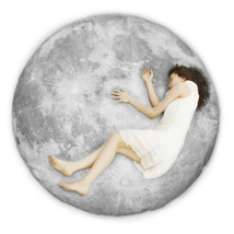 Full Moon Odyssey series (floor-pillow) - Small size - $250.00