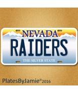 Las Vegas Nevada Raiders  NFL Football Team Aluminum Vanity License Plate New  - $9.49
