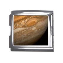 Planet Jupiter Outer Space 18mm Mega Link Italian Charm - $2.85