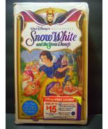 SEALED SNOW WHITE & THE SEVEN DWARFS VHS 1994 WALT DISNEY MASTERPIECE CO... - $9,900.00