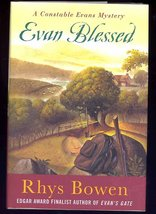 SIGNED First Edition Evan Blessed A Constable Evans Mystery by Rhys Bowe... - $27.90