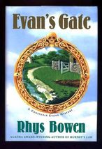 SIGNED First Edition Evan Blessed A Constable Evans Mystery by Rhys Bowe... - $32.90