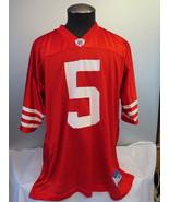San Francisco 49ers Jeresy (Retro) - Jeff Garcia #5 - By Reebok - Men's XL - $85.00