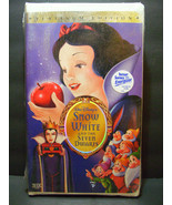 BRAND NEW SEALED SNOW WHITE & THE SEVEN DWARFS VHS WALT DISNEY PLATINUM ... - $742.50