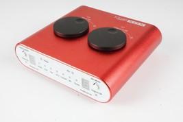 External USB Sound Card + Audio Mixer with 3 Inputs for Speech, Music, Overdubs - $49.88