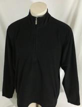 Eddie Bauer Black Half-Zip Women's XL - $19.99