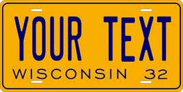 Wisconsin 1932 Personalized Tag Vehicle Car Auto License Plate - $16.75