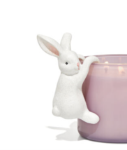 Bath & Body Works Hanging Easter Bunny Rabbit Decorative Candle Edge Top... - $21.58