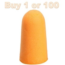 1-100 Blaze Orange Toy Cap Gun Rifle Pistol Barrel Plug Foam Tip Lot Ear... - $4.56 CAD+