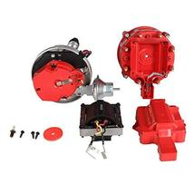 CarBole Red Male HEI Distributor Cap & Rotor Replacement Distributors for 59107C image 4