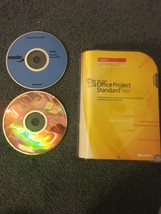 Microsoft Office Project Standard 2007 Full Version FREE Shipping - $29.00