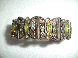 Stretch Bracelet W/ Colored Stones - $19.99