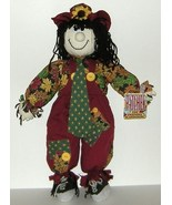 1/2 Price! Patches Friendly Scarecrow Stuffed Halloween NWT - $4.00
