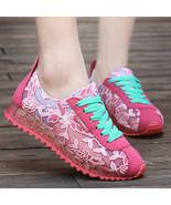 Women Summer Ladies embroidered Leisure Sport r... - $18.50