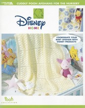 Cuddly Pooh Afghans for the Nursery, Leisure Arts Crochet Pattern Booklet 3403 - $8.95
