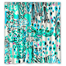 Floral Pattern Escapades In Theever Glades Shower Curtain Waterproof Fabric - $29.07+