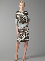 Abs Boatneck Belted Dress   Us Medium - $193.33