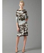 ABS BOATNECK BELTED DRESS - US MEDIUM - $170.13