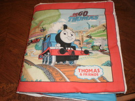 Thomas cloth book for young ones - $7.50