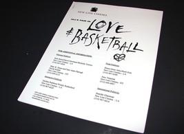 2000 LOVE & BASKETBALL Movie PRESS KIT PRODUCTION NOTES HANDBOOK Promoti... - $12.99