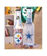 NFL Bottle Bank Soda Bottle Shaped Cowboys Saints Broncos Packers Steele... - $24.88+