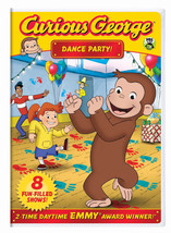 Curious George Dance Party DVD Emmy Award Winne... - $10.80