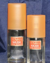 Jovan Musk Cologne Concentrate  Spray  for Women 2 lot 2 oz AND .8 oz - $20.34