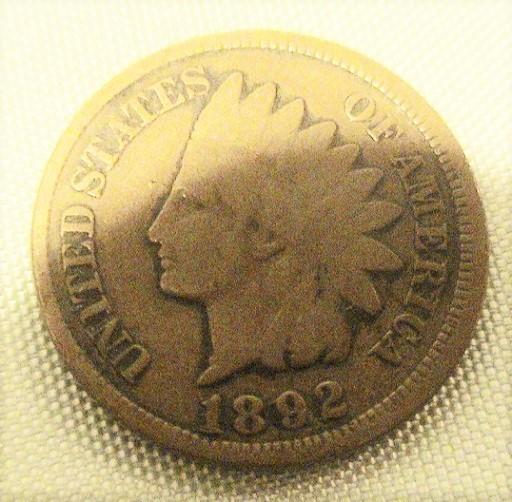 1883 Indian Head Cent Good Penny GD