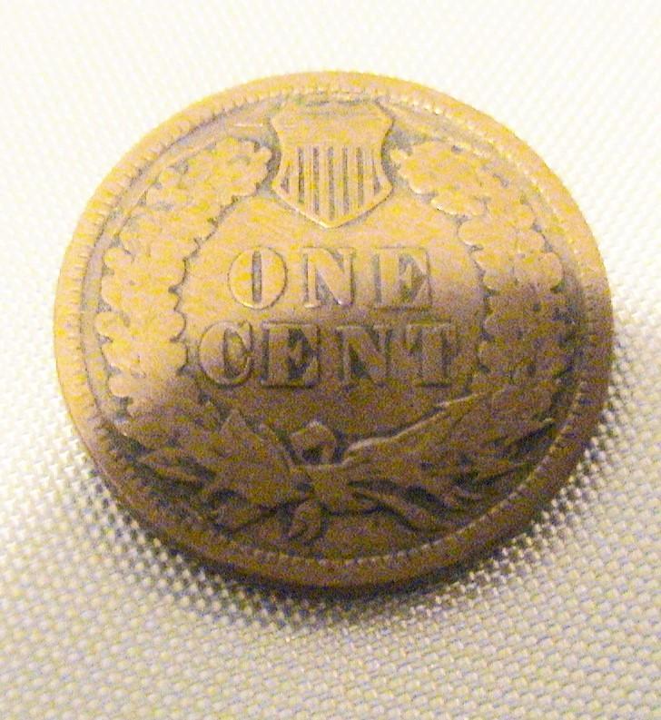 1908 Indian Head Cent Penny Good GD