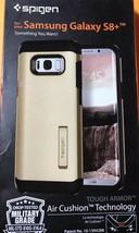 Spigen Tough Armor Galaxy S8 Plus Gold Maple Case Drop-Tested. Free Ship... - $19.75