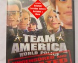 Team America World Police DVD Movie Unrated Uncensored Widescreen New