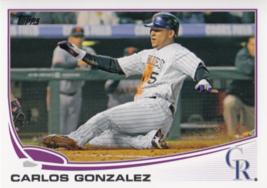 An item in the Sports Mem, Cards & Fan Shop category: Carlos Gonzalez 2013 Topps Series 1 Card #5