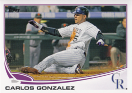 Carlos Gonzalez 2013 Topps Series 1 Card #5 - $0.99