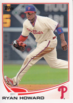 Ryan Howard 2013 Topps Series 1 Card #6 - $0.99