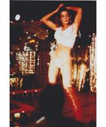 Claudia Christian Dances Red Boots 4x6 Photo 35730 - $3.99
