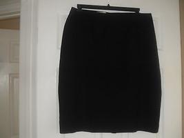 Le Suit Womens Black Partly Elasticated Waist Skirt   Plus    16W - $14.99