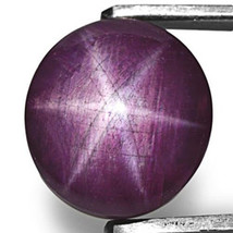AIGS Certified LIBERIA Star Ruby 43.07 Cts Natural Untreated Maroonish P... - $754.00