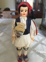 Little vintage greek  doll Italy - $20.00