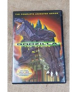 Godzilla The Complete Animated Series 4 disc set giant monster - $7.91