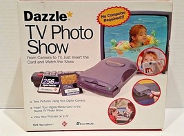 Dazzle TV Photo Show - Vintage Universal Camera To TV Viewing Device DM-... - $29.95
