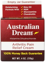 Australian Dream Arthritis Pain Relief Cream, 4 Ounce - $28.43