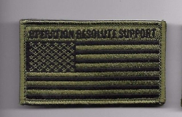 Primary image for OPERATION RESOLUTE SUPPORT ORS OD FLAG 2 X 3  EMBROIDERED PATCH WITH HOOK LOOP
