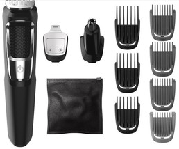Philips Norelco Multigroom 3000 13pc All in One Trimmer Nose Beard Hair ... - $14.84