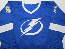 STEVEN STAMKOS / TAMPA BAY LIGHTING / AUTOGRAPHED CUSTOM HOCKEY JERSEY / COA image 2
