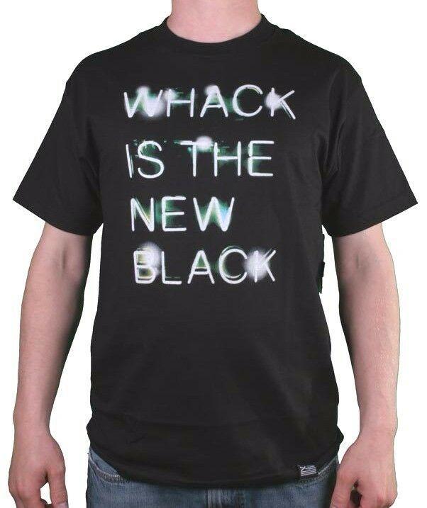 Dissizit Slick Compton USA La Whack Is The Neu Schwarz Herren Grafik T-Shirt
