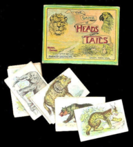 "1900 ""The Game of Heads and Tails"" - Parker Brothers  - $45.95"
