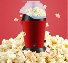 Hot Air Popcorn Popper Electric Machine Maker 16 Cups of Popcorn Red - $29.99