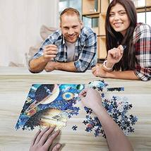 OZMI Jigsaw Puzzles 1000 Pieces for Adults and Kids, Starry Night Adult Jigsaw P image 8